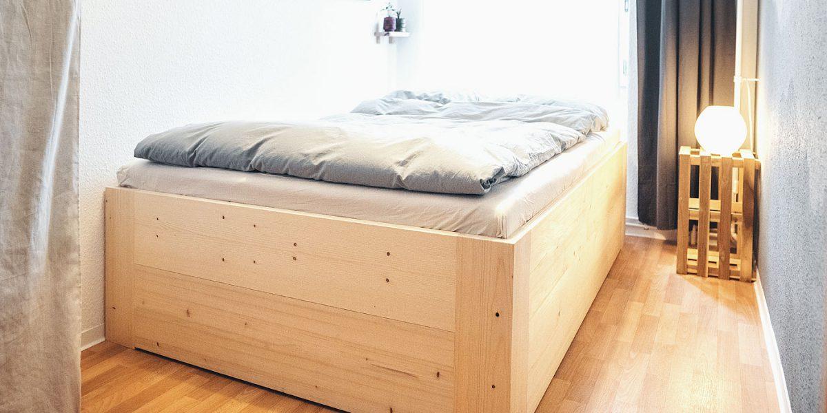 Doppelbett Fichte Ökologisch